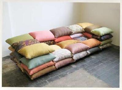 Christiane Högner, Cushionized sofa