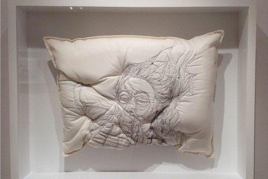 Handmade pillows by Maryam Ashkanian
