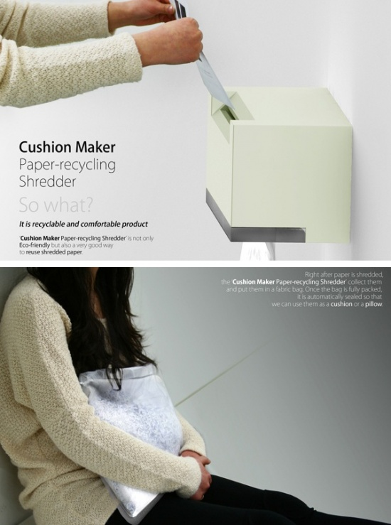 Paper Cushions