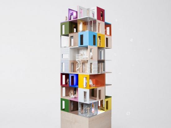 Dollhouse by Lifschutz Davidson Sandilands