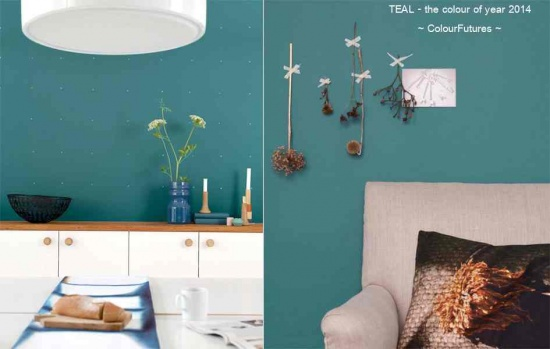 Colour Futures trend forecast: year 2014 is teal blue