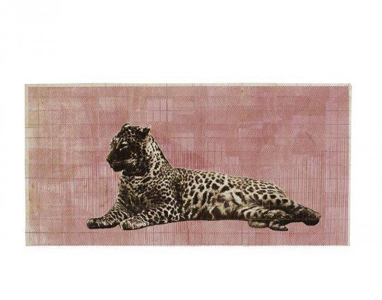 Fauna Balsa Wall Hanging, Leopard