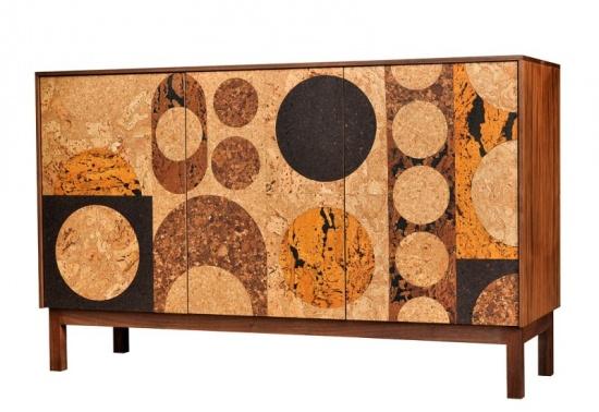 Iannone Design - Cork Mosaic Sideboard