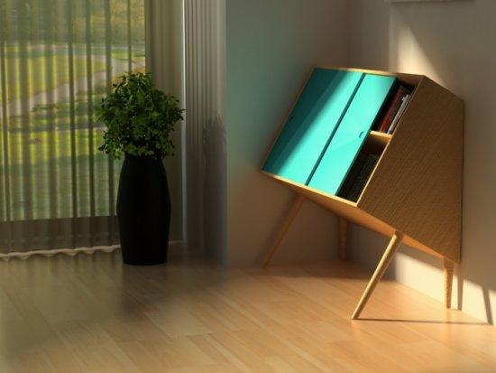 Lisa Sandall, Chin up storage furniture