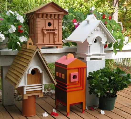 Richard T. Banks, Classic Architectural Birdhouses
