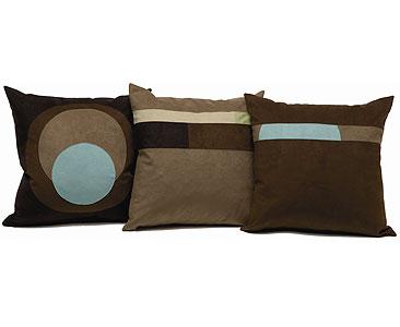 Sensuede pillows
