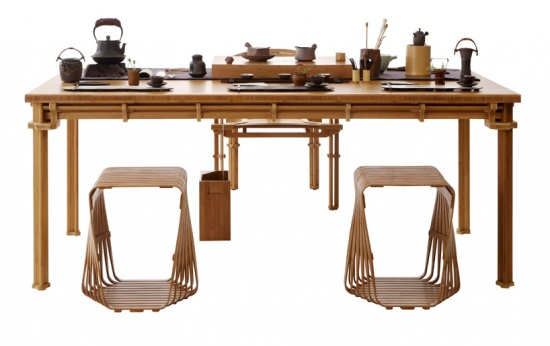 Slowwork, Teastyle bamboo collection by Jeff Dah-Yue Shi