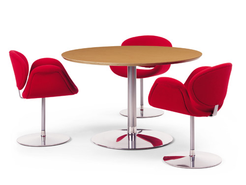 tulip chair table