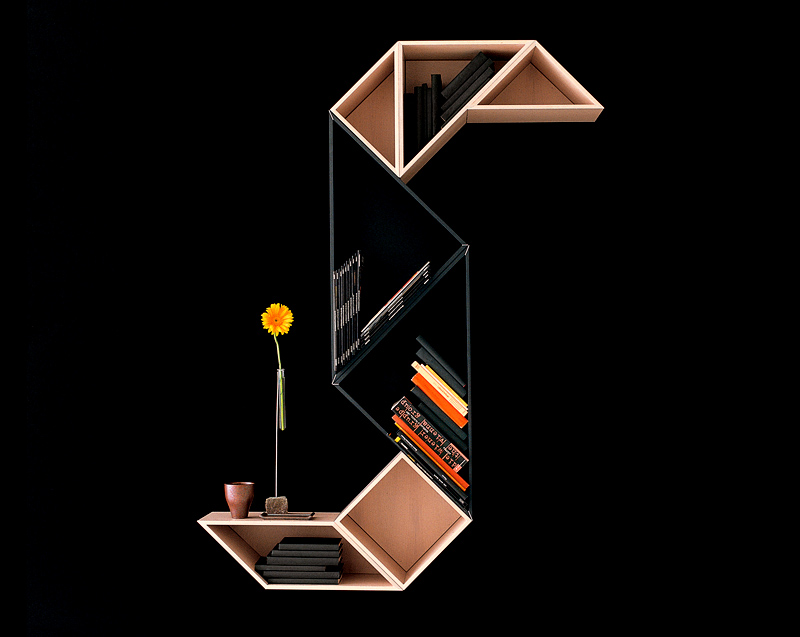 Creative bookshelves by Lago