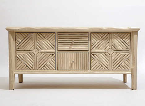 Paul Loebach, the Great Camp Collection, sideboard