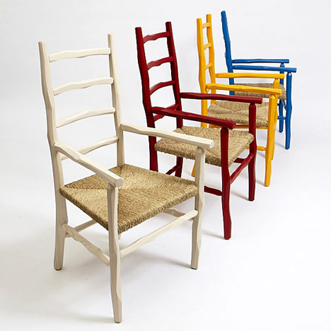 Paul Loebach, the Great Camp Collection, chair collection