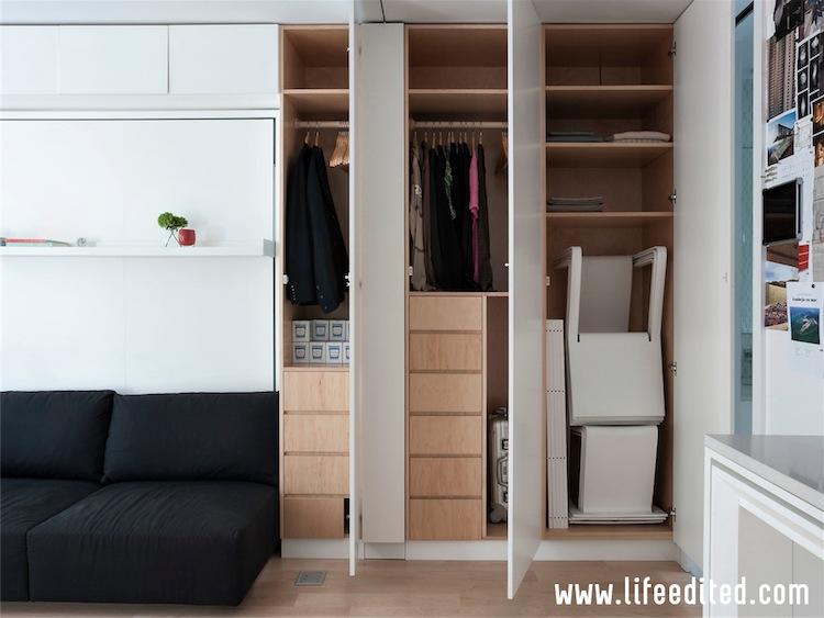 LE1: wall storage