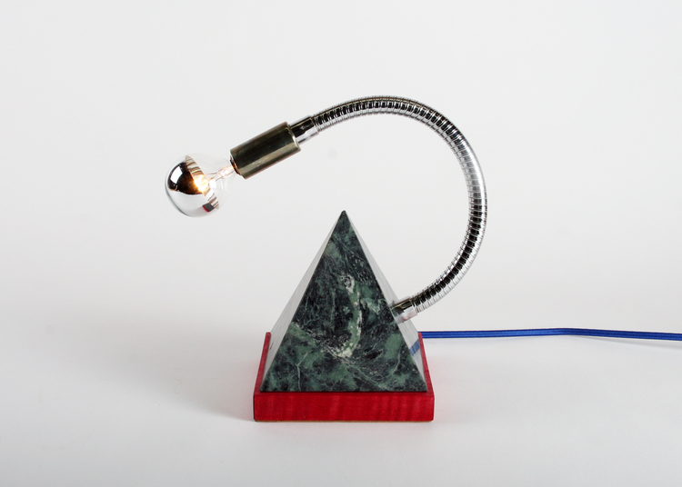 Memphis marble lamp by Damm Design