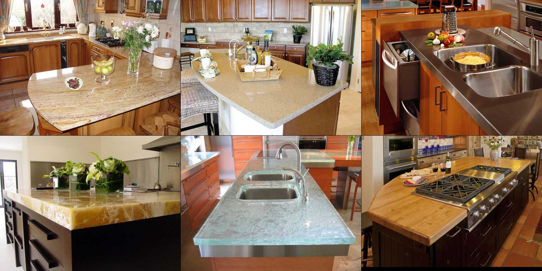 Modern kitchen countertop