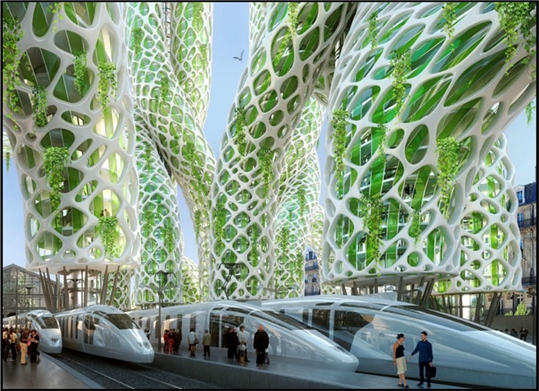 Paris 2050 - super green capital