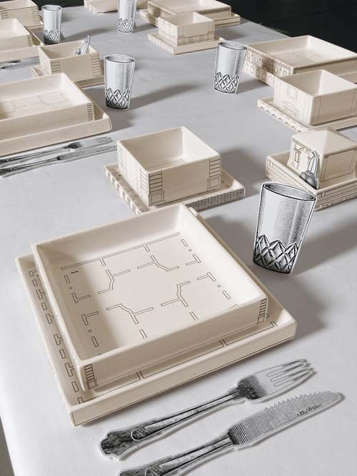 Seletti palace tableware