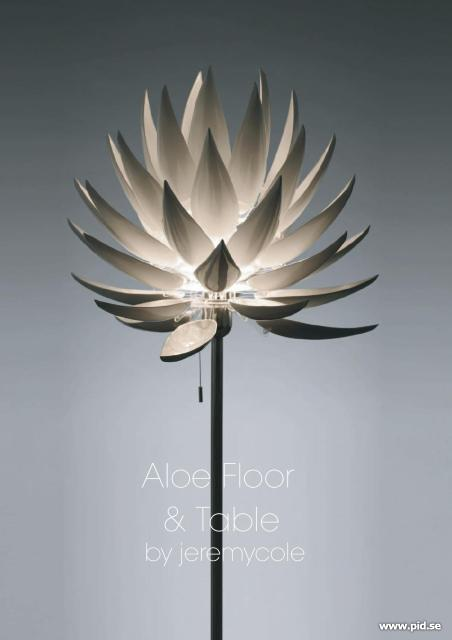 Aloe Blossom floor lamp