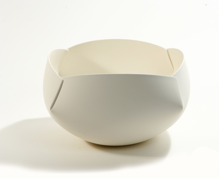 Ann Van Hoey ceramics, on white