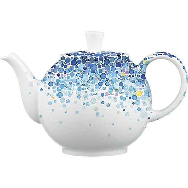 Nomoco design for Crate&Barrel 50th Anniversary April teapot