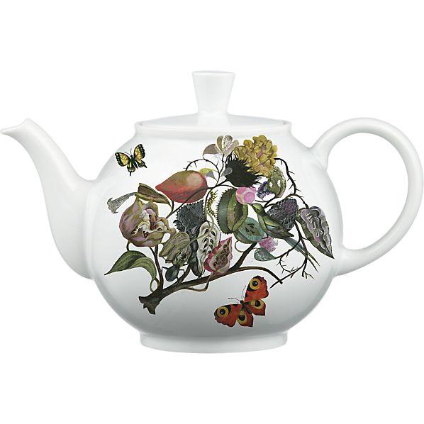 Olaf Hajek design for Crate&Barrel 50th Anniversary August teapot