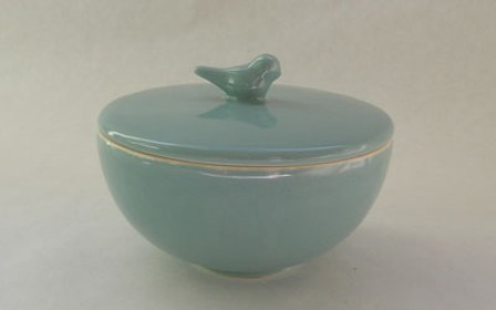 Bird bowl from set