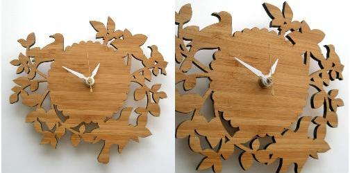 Decoylab, Birds and Branches Clock