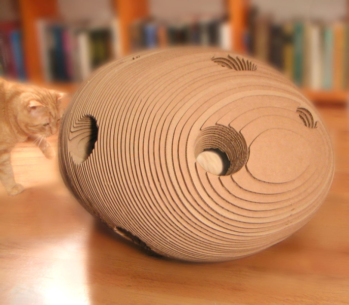 Cat Cocoon designed by Warren Lieu
