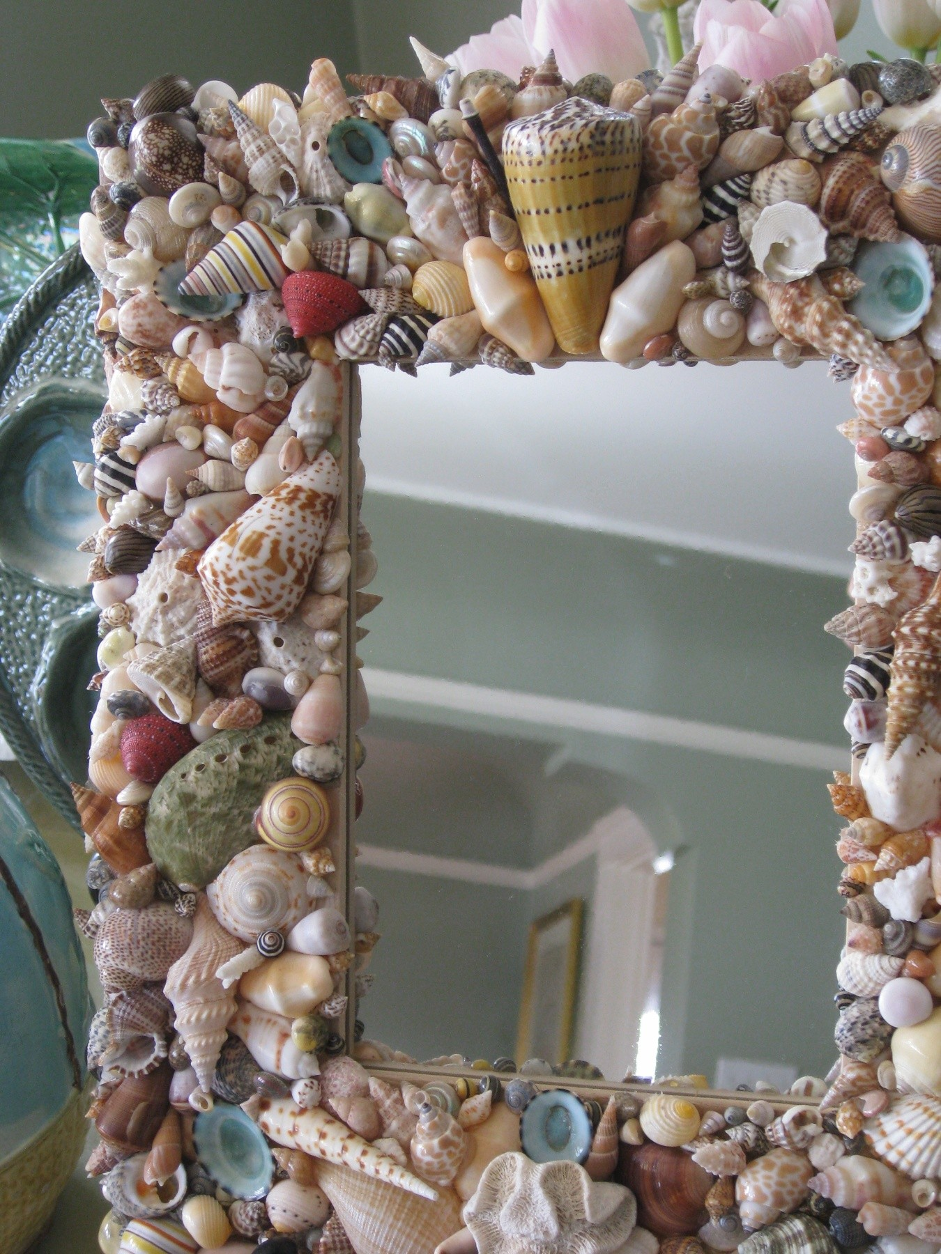 Colleen Furano - Shell Mirror