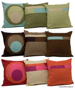 Emma Gardner pillows