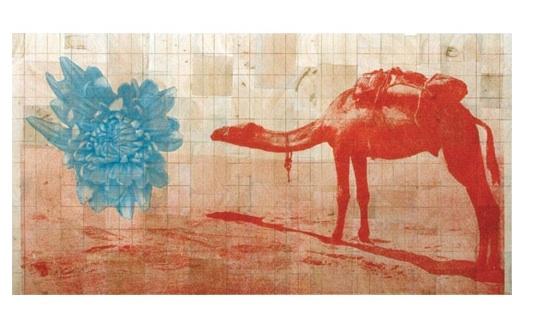Fauna Balsa Wall Hanging, Camel