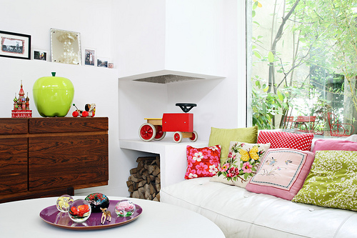 Fifi Mandirac apartment styling