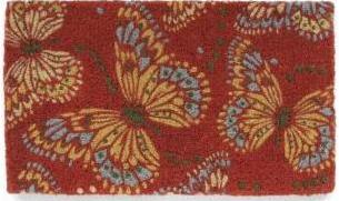 Garnet Hill, Kimono Butterfly doormat