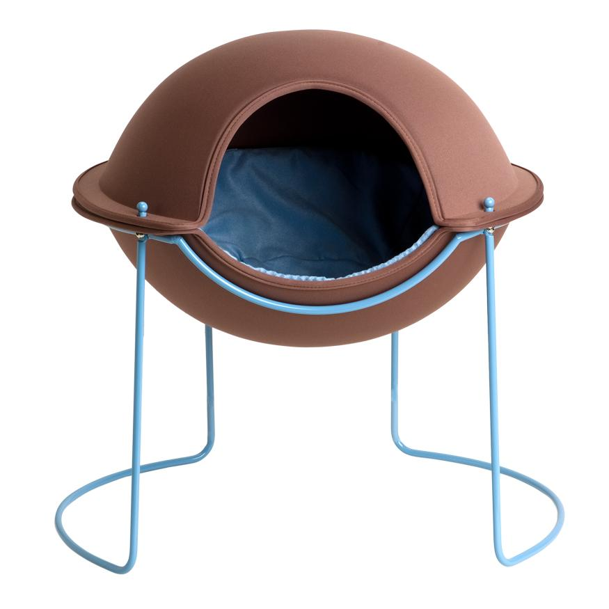 Hepper Pod Pet Bed - Earth and Sky