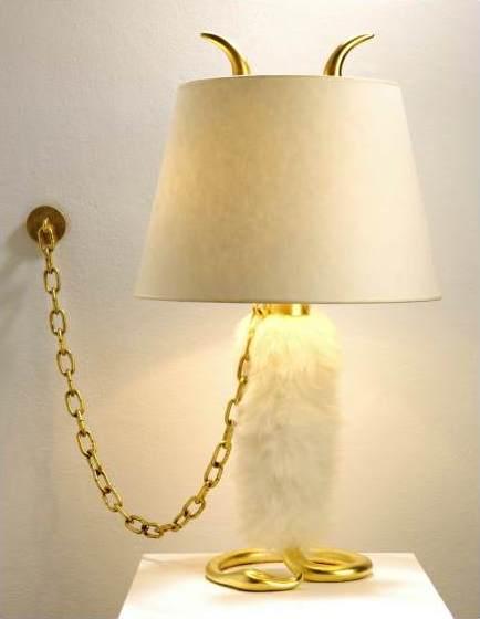 """Hubert le Gall, """"Mon Yéti"""" lamp"""