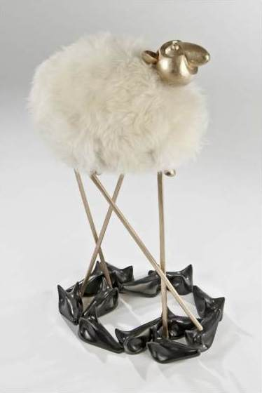 "Hubert le Gall, ""Saute-loups"" lamp"