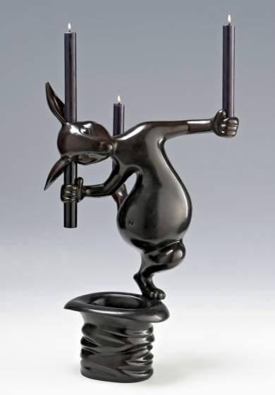"""Hubert le Gall, """"Lucien le magicien"""" chandelier"""