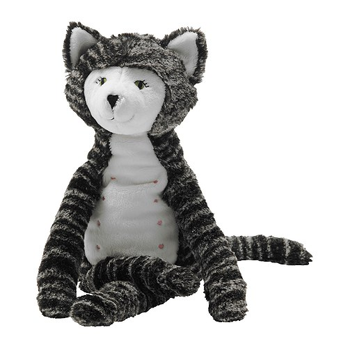 IKEA GOSIG KATT, soft toy