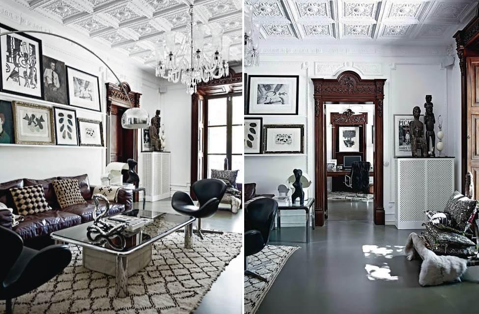 Birger house, Palma de Mallorca, living room