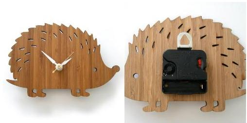 Decoylab, Modern Baby Hedgehog Clock