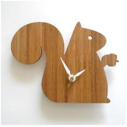 Decoylab, Baby Squirrel Clock