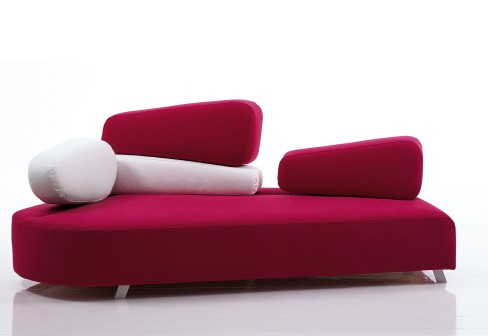 Mosspink sofa by Kati Meyer-Brühl