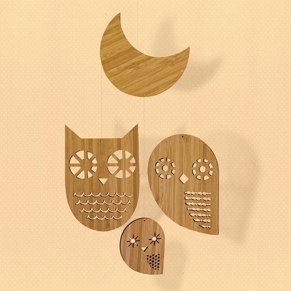 Petit Collage - Owl Family