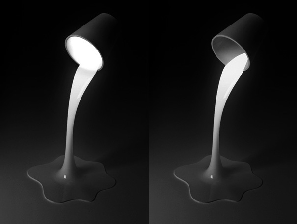 Yeongwoo Kim, Pouring Light Lamp