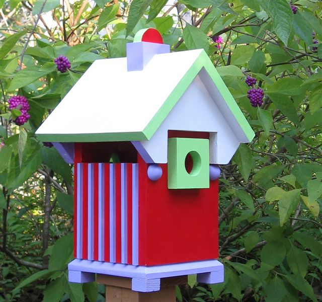 Richard T. Banks, Geometric Architectural Birdhouse