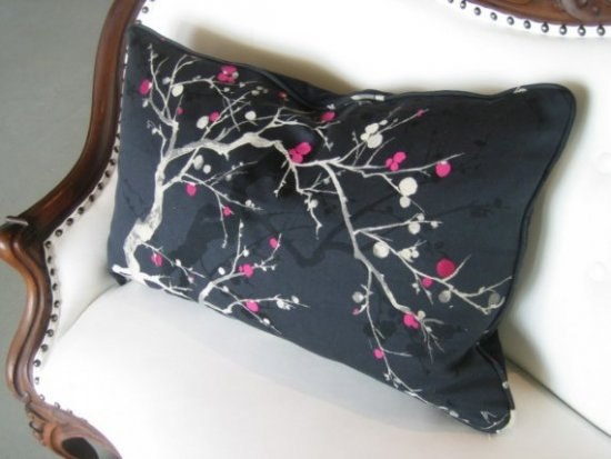 Touch of Pink Pillow, $165.00 USD, SpruceHome