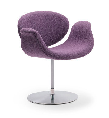 tulip chair - lilac