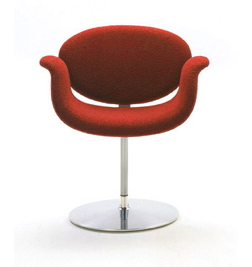 tulip chair - red