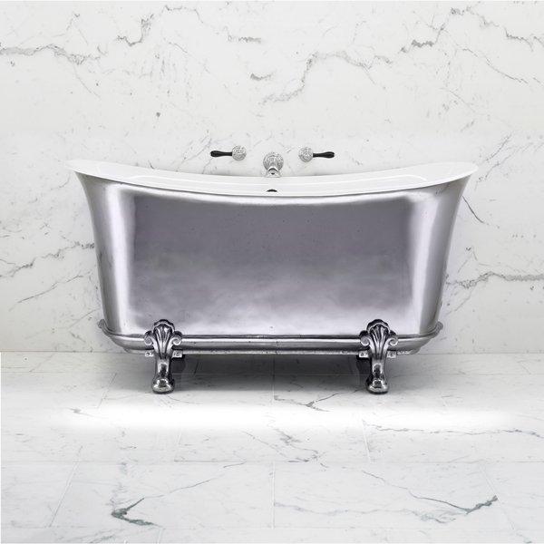 Empire bathtub - Fleur de Lis