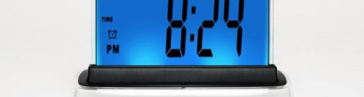 Moshi clock - voice activating and talking alarm clock