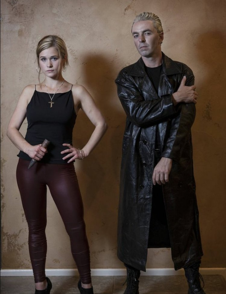 Buffy the Vampire Slayer - original outfit idea for Halloween
